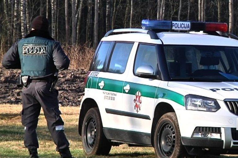 Tęsiama įtariamo žudiko paieška (nuotr. TV3)