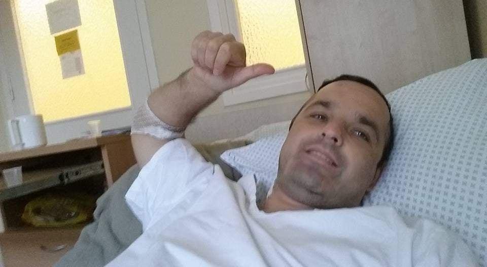 Audrius po operacijos atsigauti prireikė dviejų metų