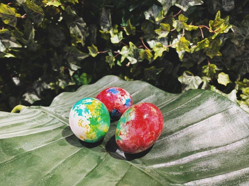 Folija marginti kiaušiniai
