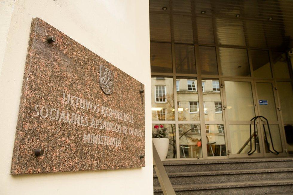 Lietuvos Respublikos Socialinės apsaugos ir darbo ministerija (nuotr. Tv3.lt/Ruslano Kondratjevo)
