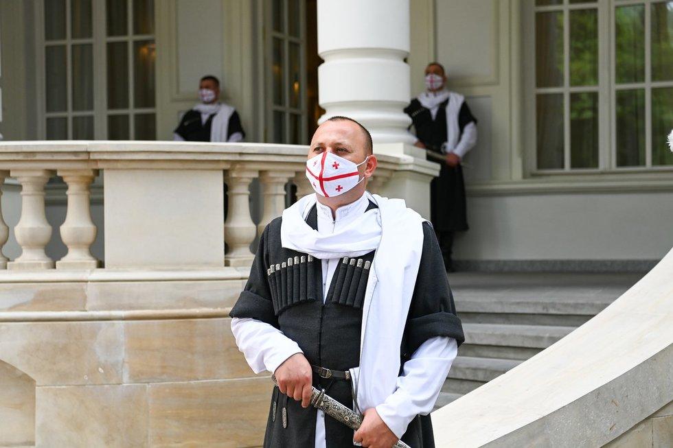 Prezidentas Nausėda lankosi Sakartvele