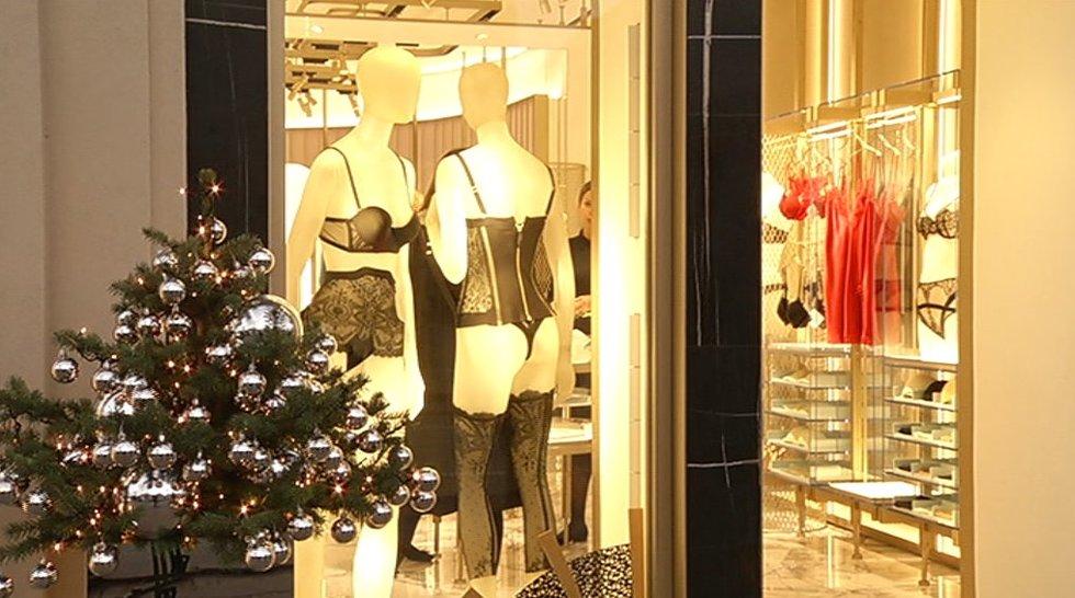 Apatinių parduotuvė (nuotr. TV3)
