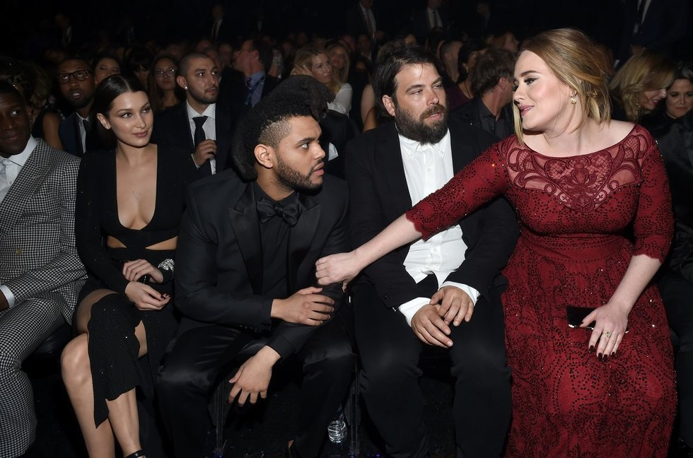 Bella Hadid, The Weeknd, Simon Konecki, Adele