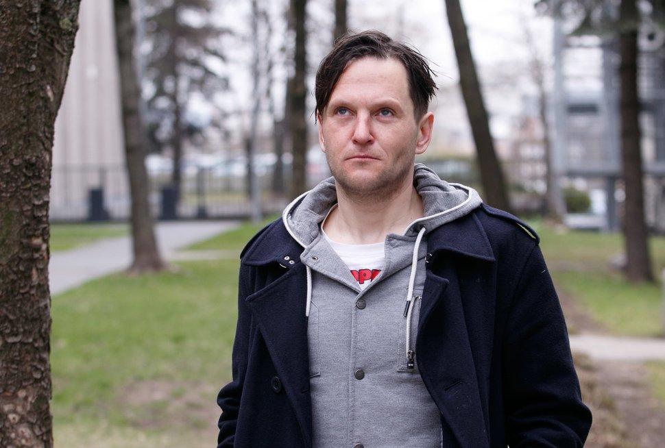 Buvęs narkomanas Vytautas (nuotr. Tv3.lt/Ruslano Kondratjevo)