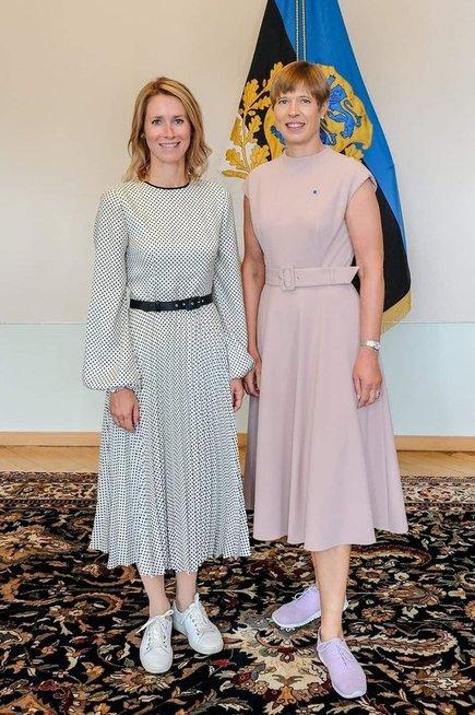 Estijos prezidentė ir ministrė pirmininkė