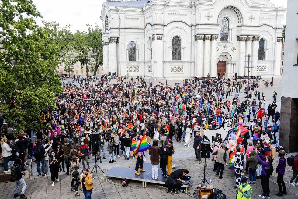 Kaune vyksta LGBTQ+ eitynės