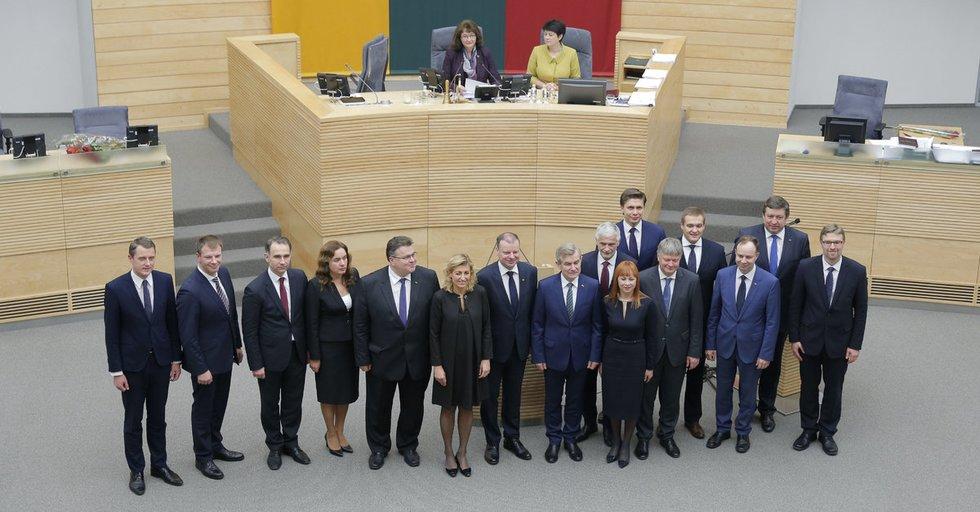 Septynioliktoji Vyriausybė (nuotr. Fotodiena.lt)