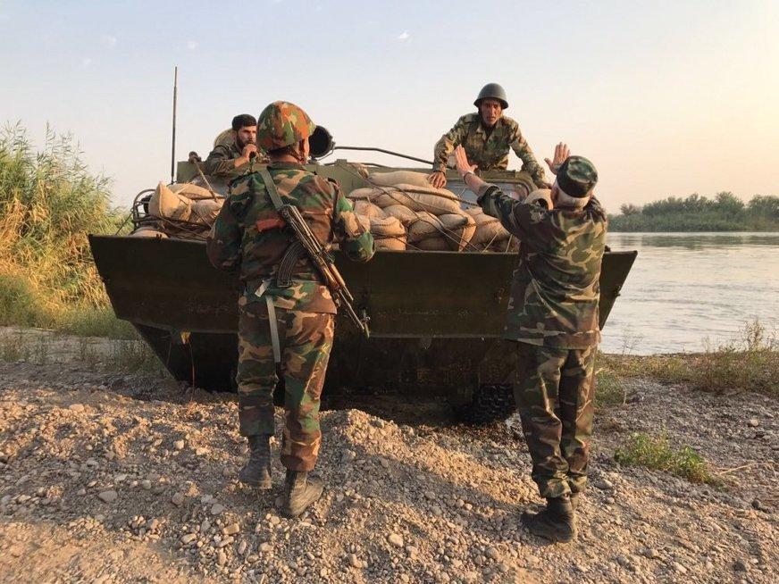 Rusijos ir Sirijos pajėgos perėmė dalį Deir ez Zoro kontrolės (nuotr. SCANPIX)