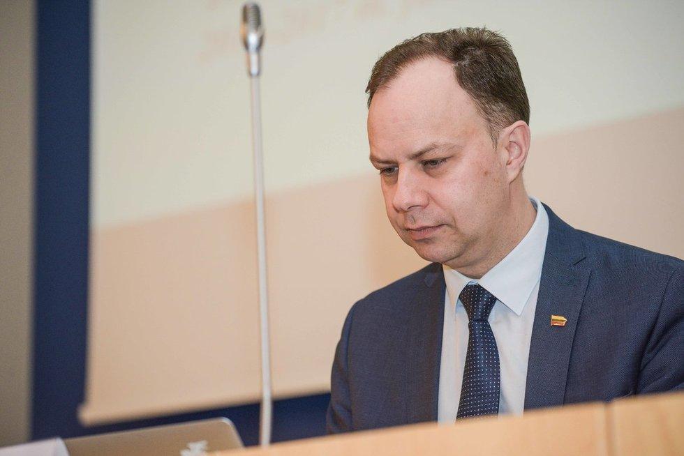"Aurelijus Veryga, Konferencija  ""Sveikata visose politikose"" (Fotodiena/Arnas Strumila)"