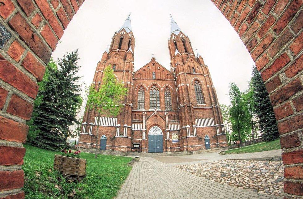 Anykščių Šv. Mato bažnyčia (nuotr. V.Pupelio)