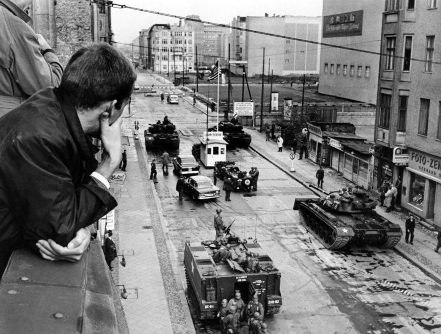 Berlyno krizė (nuotr. Vida Press)