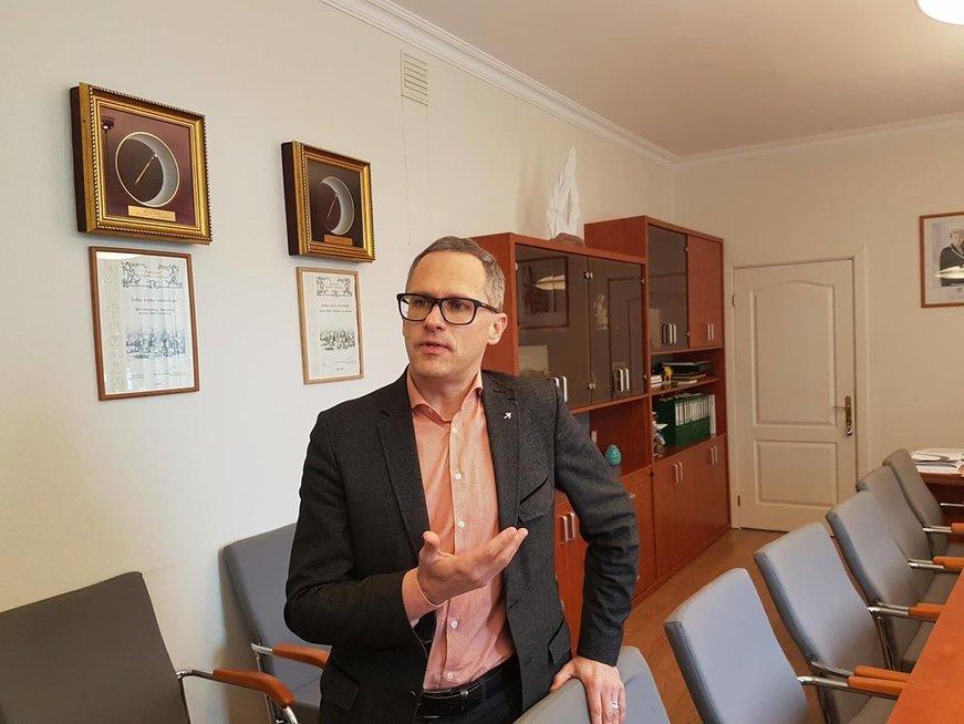Šakių rajono meras Edgaras Pilypaitis (nuotr. Raimundo Maslausko)
