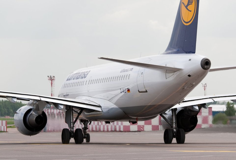 Lufthansa, oro uostas