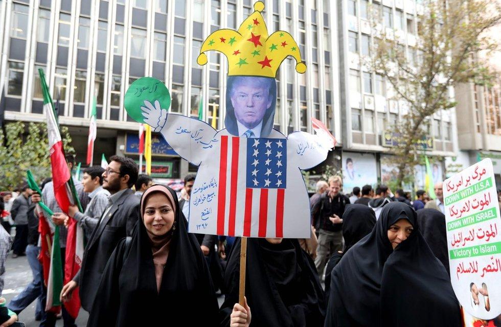 Protestas Irane (nuotr. SCANPIX)