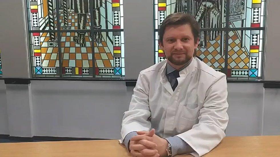 Skausmo medicinos centro vedėjas gydytojas anesteziologas-reanimatologas Alfredas Vaitkus