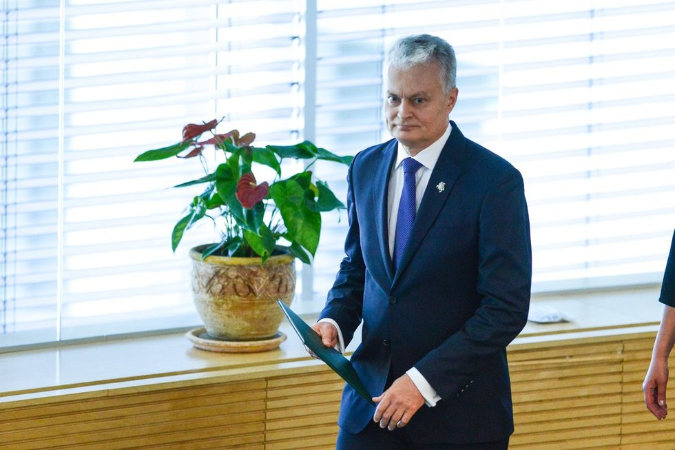 Prezidento metinis pranešimas Seime (nuotr. Fotodiena/Justinas Auškelis)