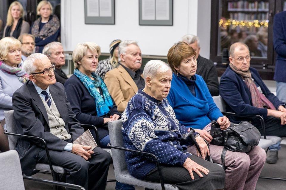 Iš Vytauto V. Landsbergio – žinia apie mamą: paspruko iš ligoninės (Martyno Mažvydo bibliotekos nuotr.)