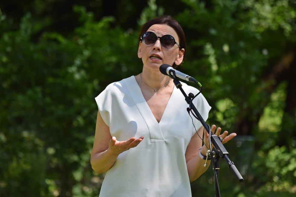 Nacionalinio vėžio instituto chemoterapijos skyriaus vedėja dr. Birutė Brasiūnienė