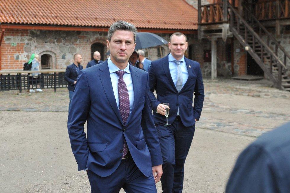 Giedrius Gustas ir Mindaugas Špokas (nuotr. Fotodiena.lt)