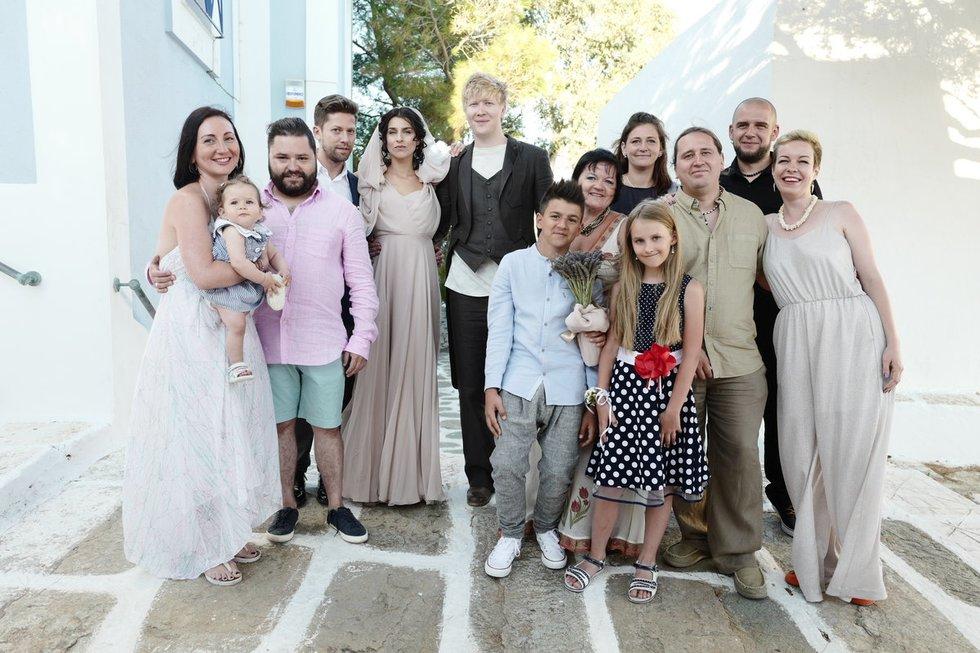 A. Grigorian vestuvės (T. Kolesnikov nuotr.)