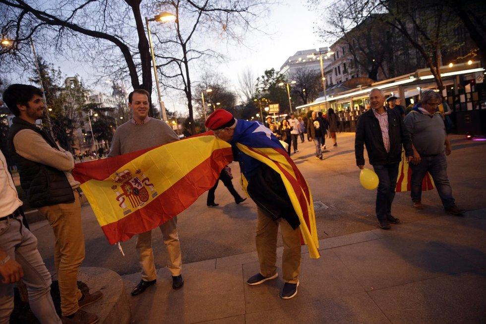 Nepriklausomybės judėjimas Katalonijoje (nuotr. SCANPIX)