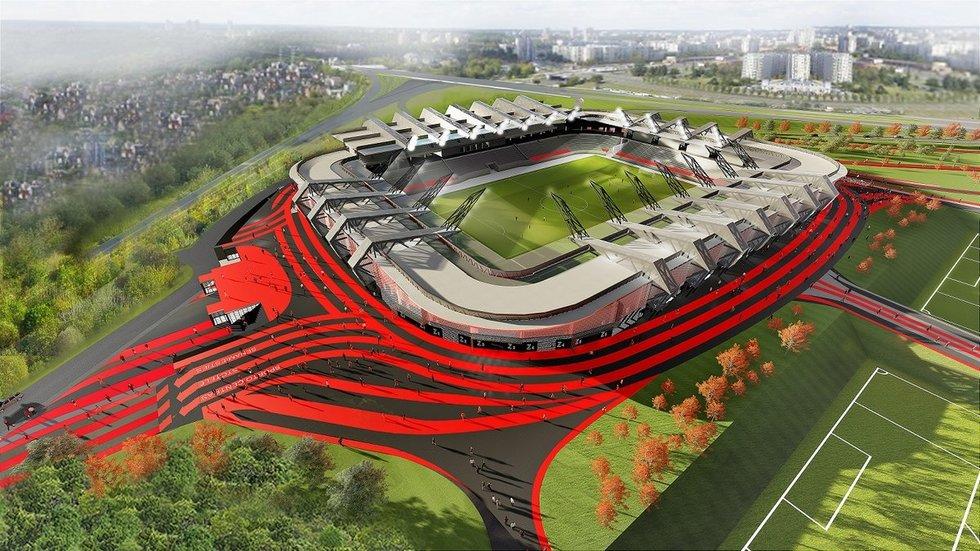 Nacionalinio stadiono projektas