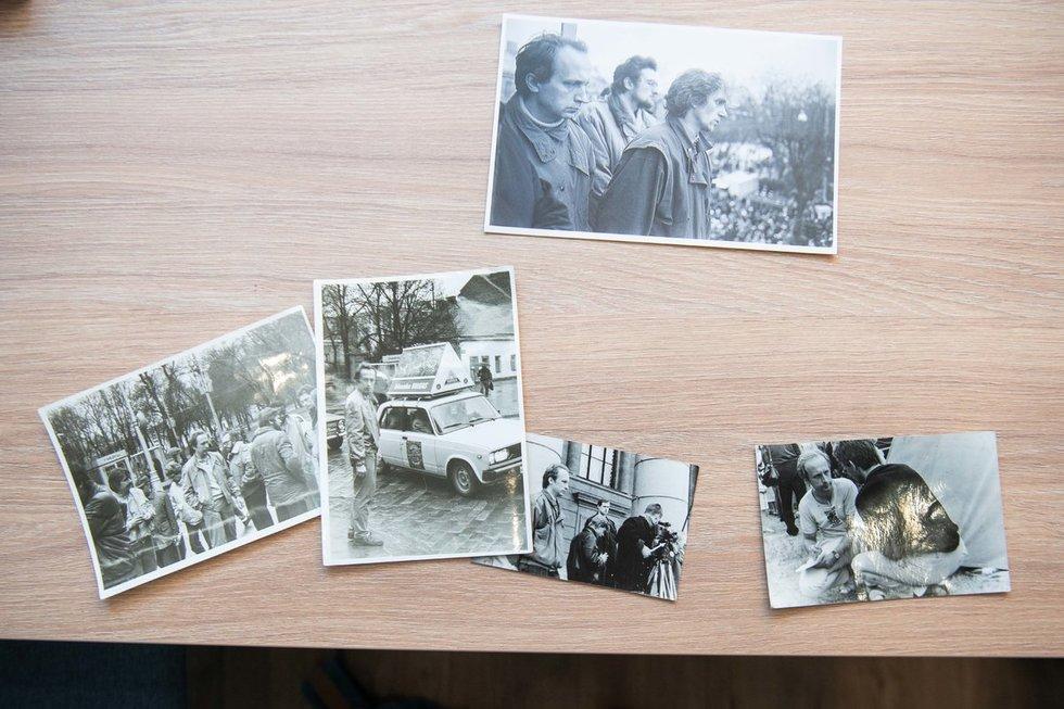 Nuotraukos iš asmeninio A. Kubiliaus archyvo