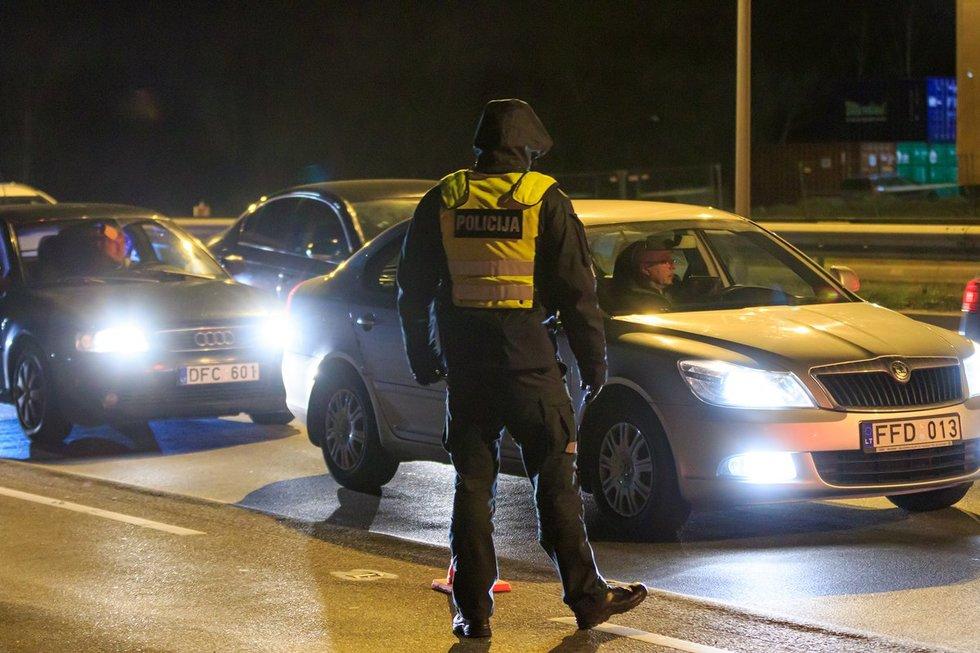 Vilniuje didžiulės policijos pajėgos ieško pagrobtos mergaitės