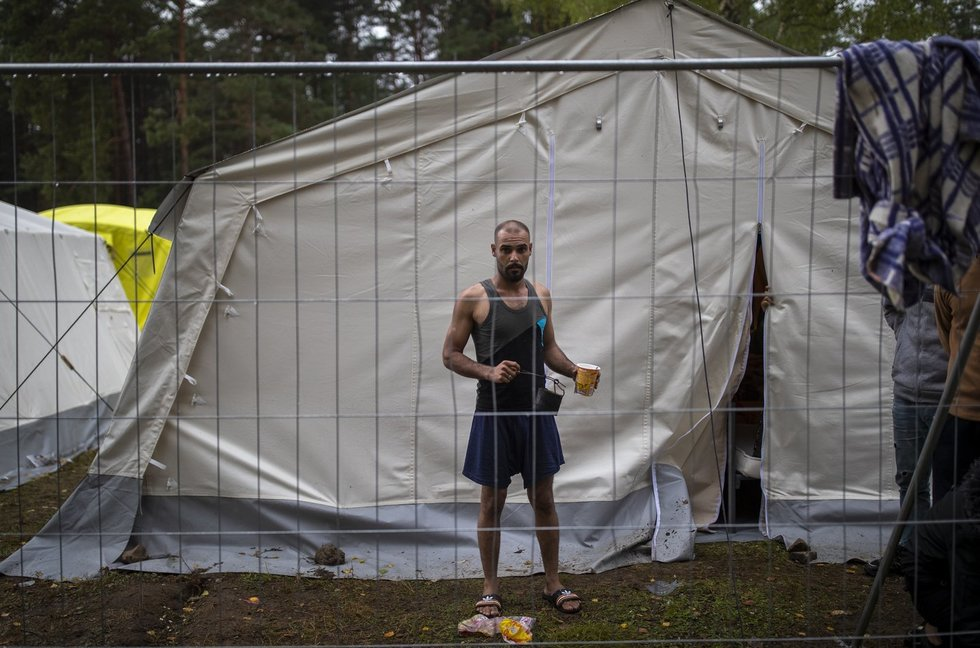 Rūdninkų migrantų stovykla