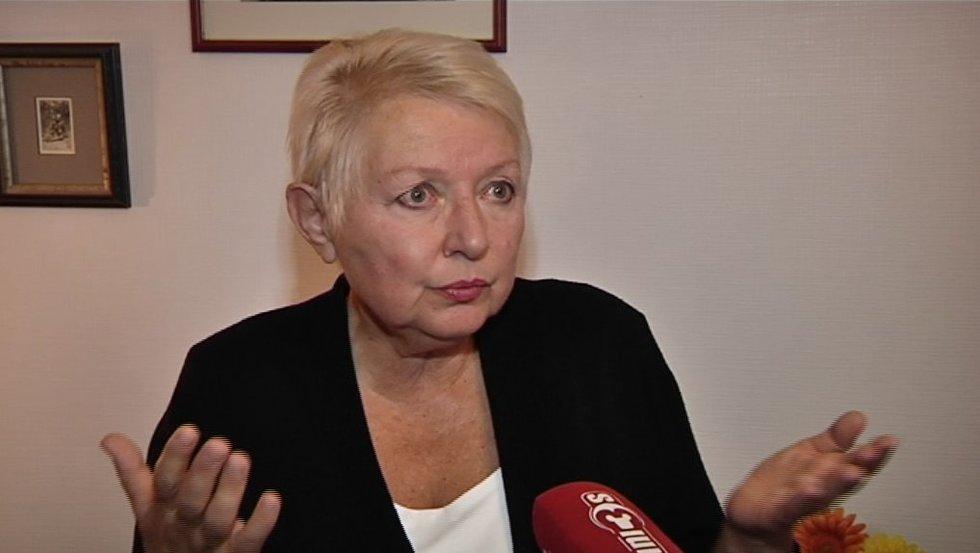 Adolfo Ramanausko-Vanago dukra Auksutė Ramanauskaitė-Skokauskienė (nuotr. TV3)