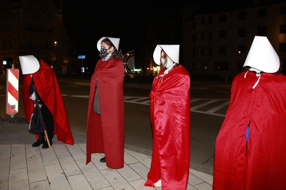 Protestai Lenkijoje