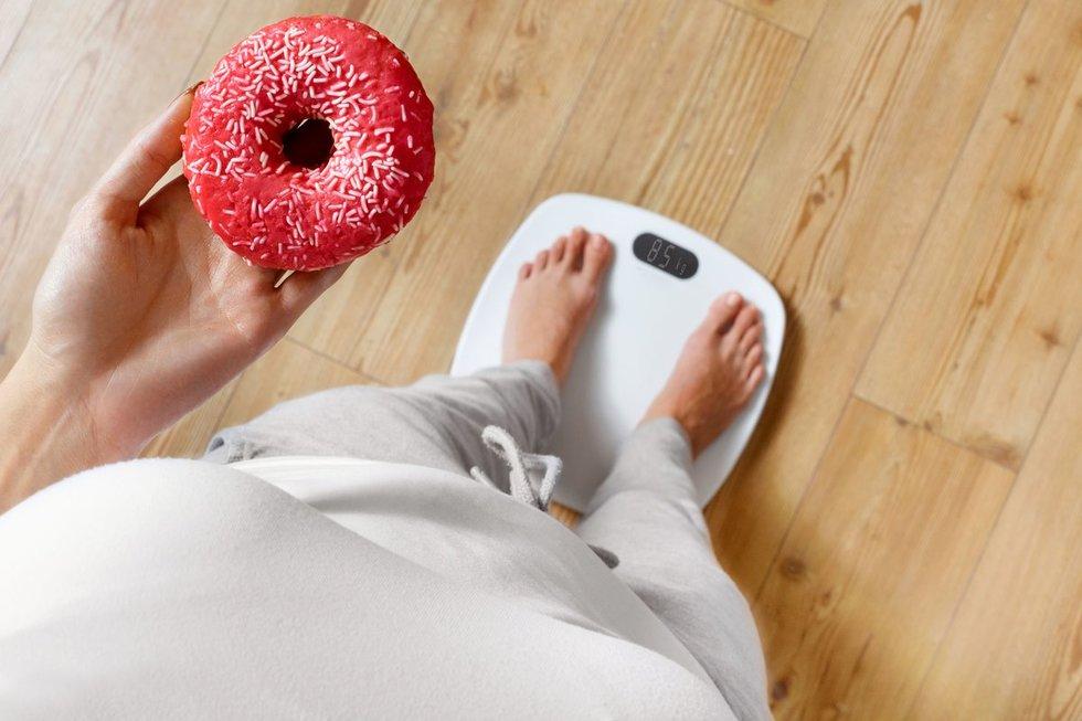 Problemos dėl svorio (nuotr. 123rf.com)