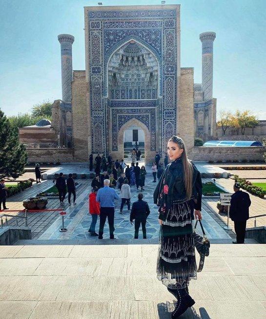 Viktorijos Siegel atostogos Uzbekistane