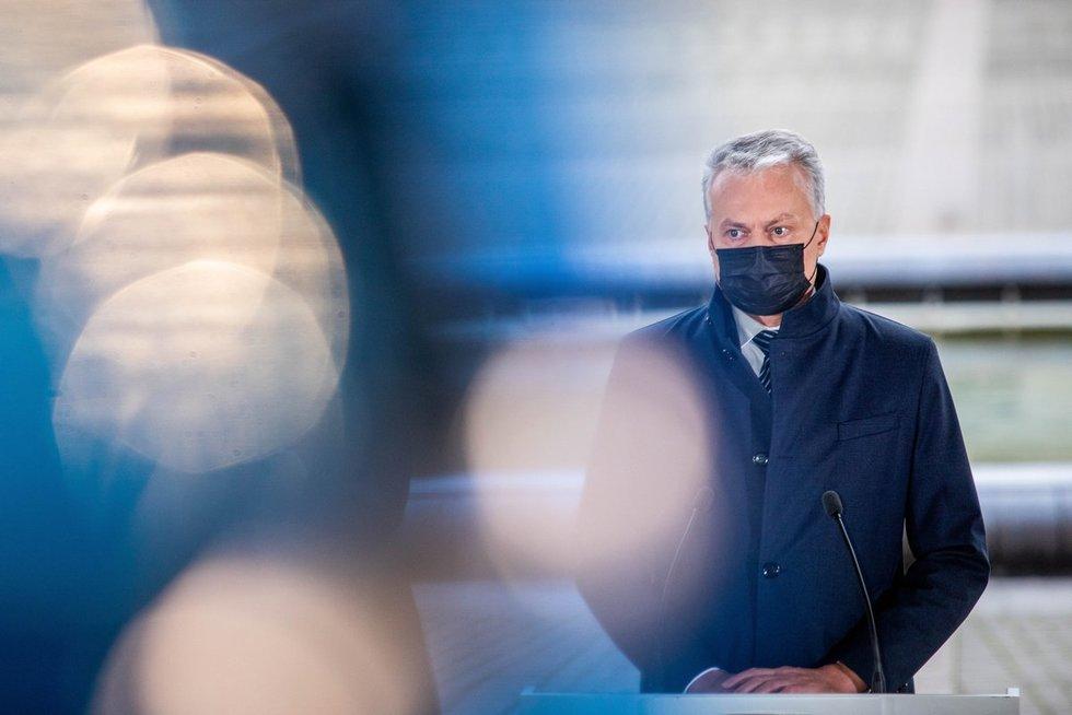 Gitanas Nausėda susitiko su išrinktų partijų lyderiais