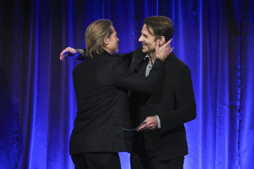 Brad Pitt ir Bradley Cooper