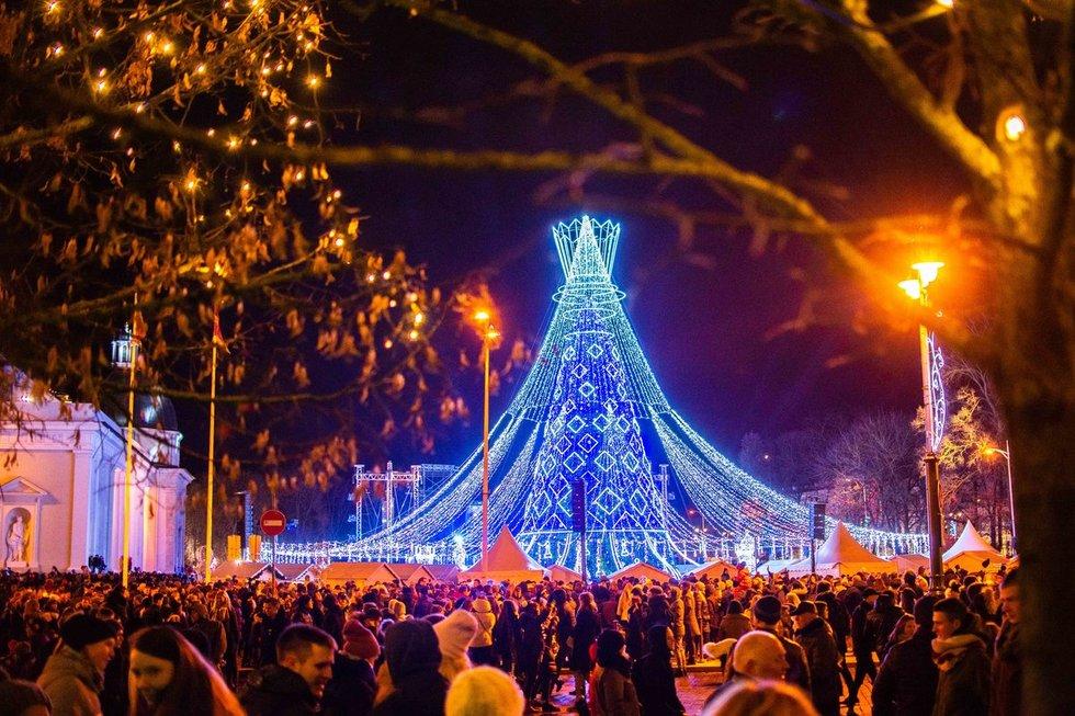 Kalėdų eglė sostinėje 2019 m.