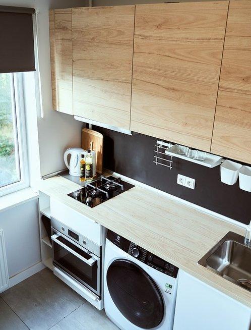 Atnaujino daugiabučio virtuvę