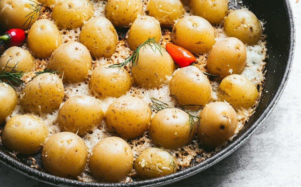 Užkeptos bulvytės