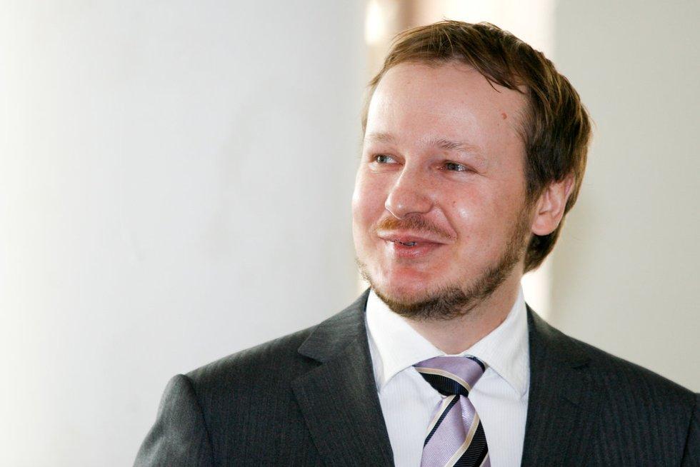 """""""Ober – Haus"""" Vertinimo ir rinkos tyrimų departamento vadovas Saulius Vagonis (nuotr. Fotodiena.lt/Karolio Kavolėlio)"""