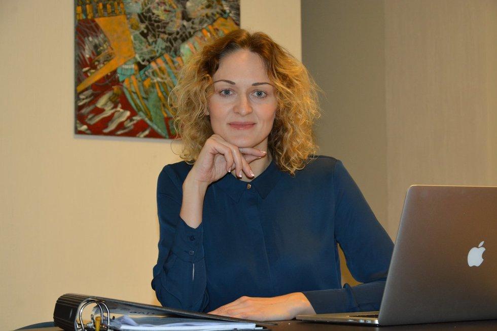 """IT paslaugas teikiančios agentūros """"Dizaino kryptis"""" direktorė Vaiva Lukminaitė (nuotr. asm. archyvo)"""