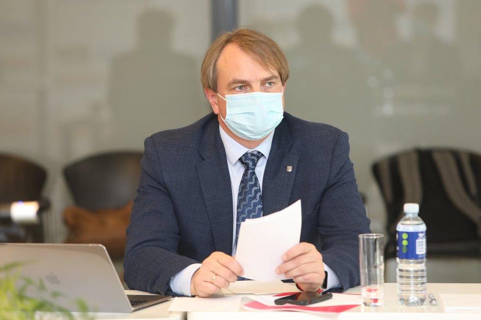Kęstutis Petrikonis (LSMU nuotr.)