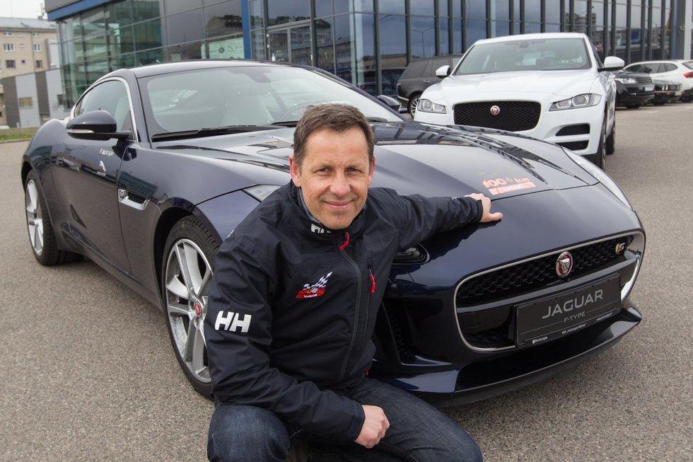 """""""Jaguar"""" spindės """"ENEOS 1006 km lenktynėse"""" (nuotr. Organizatorių)"""