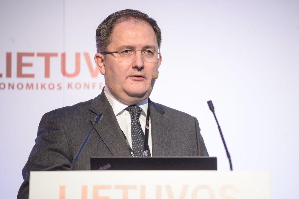 Grzegorzas Zielinskis, Lietuvos ekonomikos konferencija 2019 (A.Strumila/Fotodiena.lt)