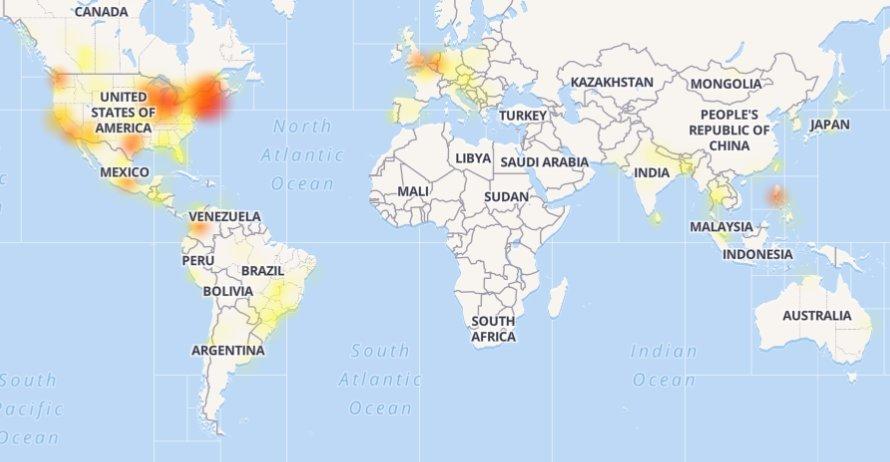 """Visame pasaulyje sutriko """"Instagram"""" ir """"Facebook"""" veikla"""