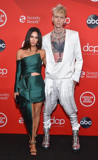 Megan Fox ir Machine Gun Kelly