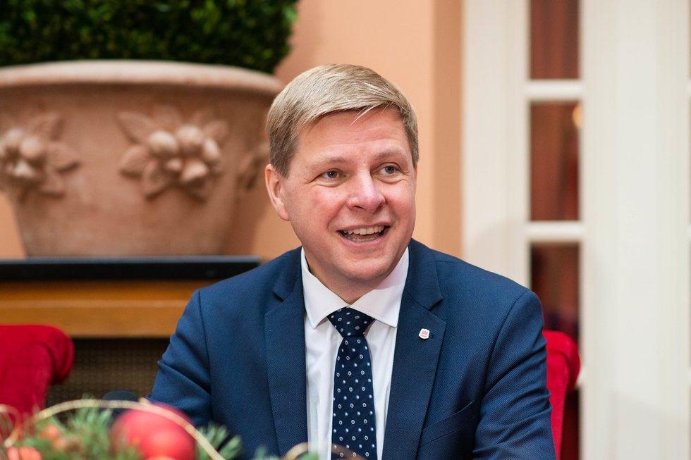 Vilniaus meras Remigijus Šimašius