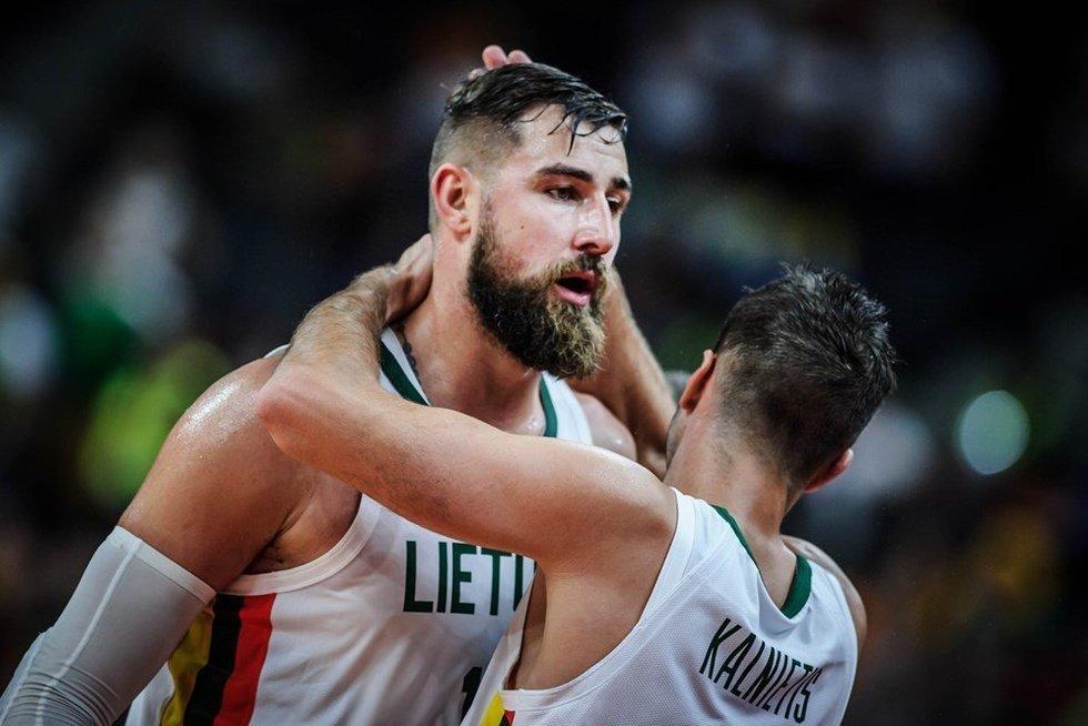 Rinktinės krepšininkai nepateko tarp aštuonių stipriausių planetos komandų (nuotr. FIBA)
