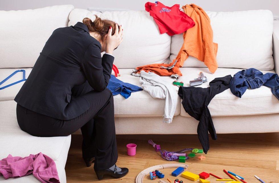 Spalvoti drabužiai (nuotr. 123rf.com)