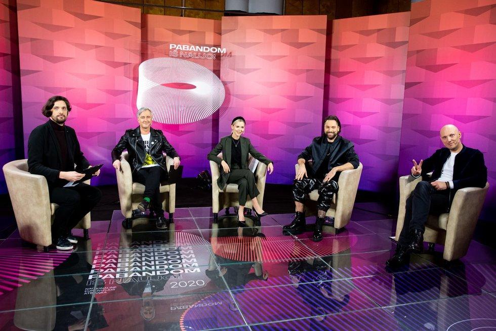 """""""Eurovizijos"""" nac. atrankos 3-iosios laidos filmavimas"""