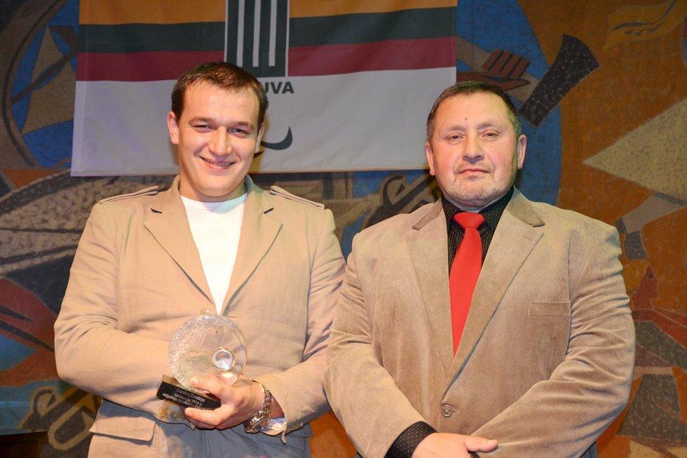Donatas Dundzys ir Jonas Baltrušaitis (nuotr. asm. archyvo)